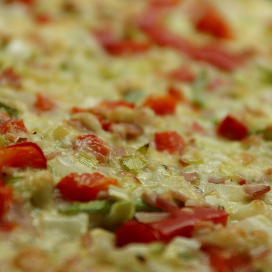 Several Pennsville, New Jersey, restaurants serve build-your-own pizzas.