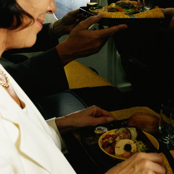 Onboard meals on Emirates flights range widely in ethnic and dietary styles.