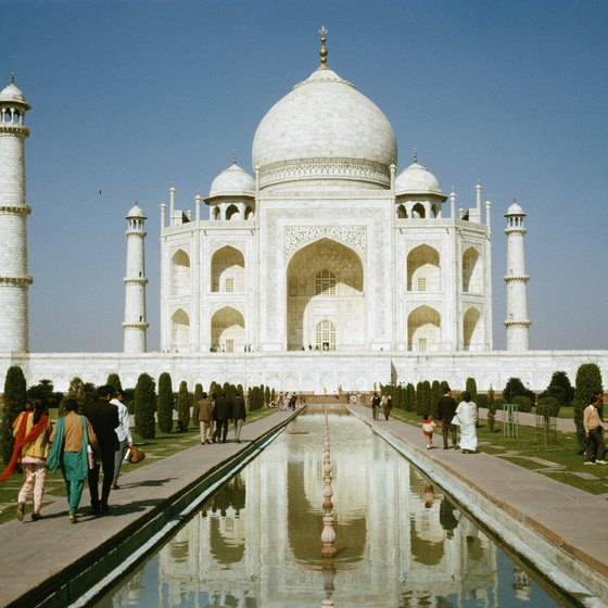 Visit the Taj Mahal during your Indian trip.