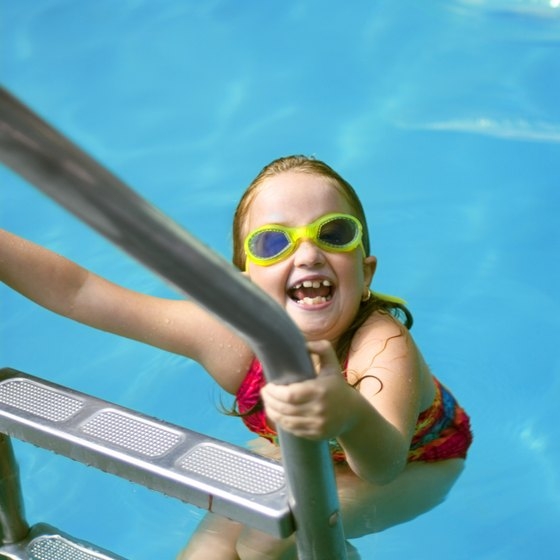 Gather your little swimmers and head off to Kiwanis Community Park for a swim.