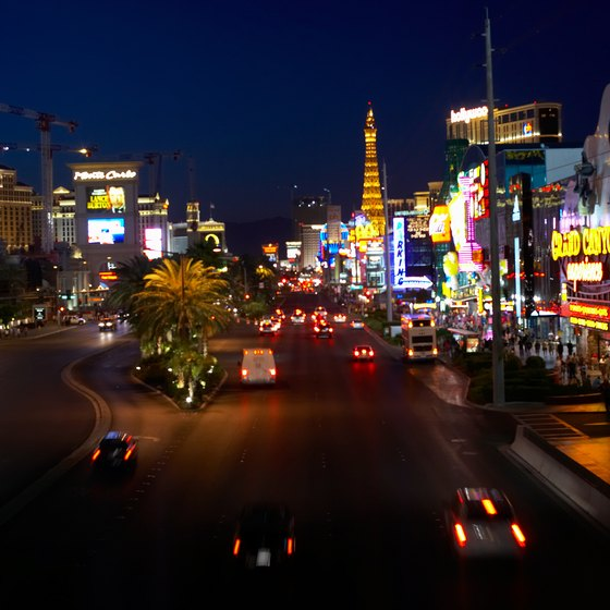The casinos themselves are tourist attractions in Las Vegas.