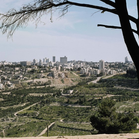 Visitors can tour Israel as part of a group to see its famous sites.