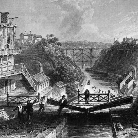 The Erie Canal was the catalyst of New York's industrial boom.