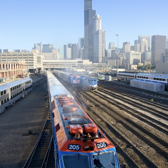 Chicago is the fourth-busiest station in the Amtrak system.