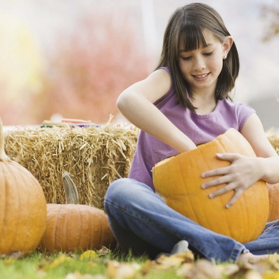 In the fall, families can participate in pick your own pumpkin activities in Davis.