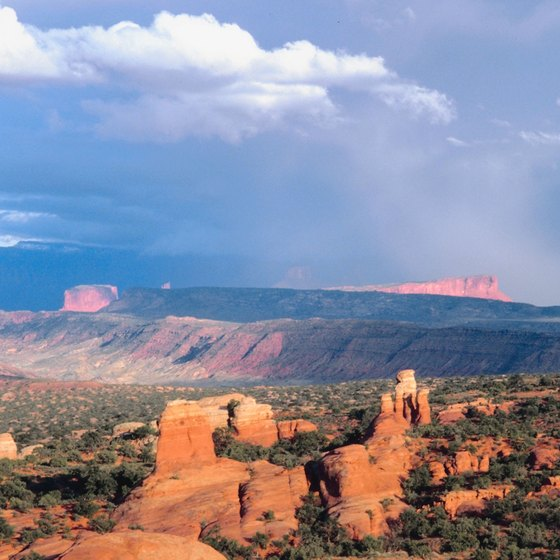 Canyonlands is both the largest and least-traveled national park in Utah.