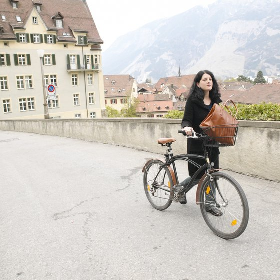Guided bicycle tours take you off the beaten path.