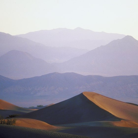 Death Valley boasts some of the world's most dramatic landscapes.