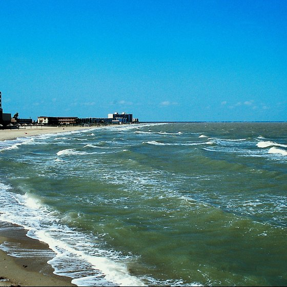 Visit the beaches in Corpus Christi for family fun.