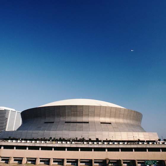 An abundance of hotels, from major chains to boutique properties, are located within a mile of the Superdome.