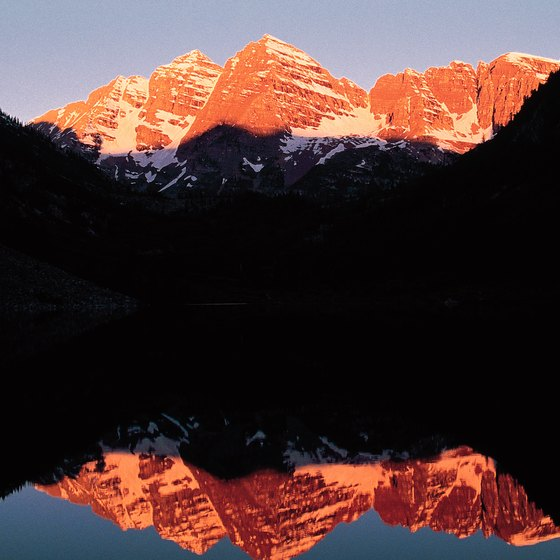 Your trip will take you through the spectacular Rocky Mountains.