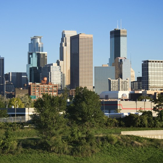 Campers in Blaine, Minnesota are just a short drive from downtown Minneapolis and its attractions.