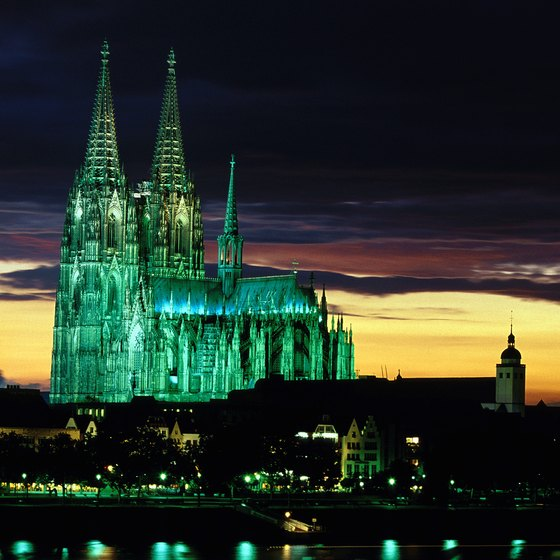 Cologne's cathedral is the city's clearest reference point.