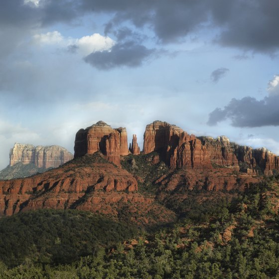 Sedona's climate is comfortable in October.