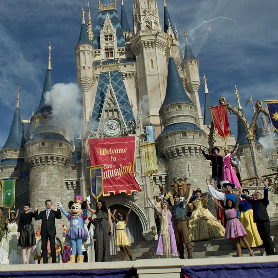 Fantasyland is the newest theme park addition at Florida's Walt Disney World.
