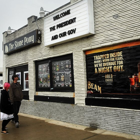 Bruce Springsteen, Southside Johnny and Jon Bon Jovi started at Stone Pony.