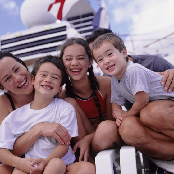 Most cruise lines have options for families.