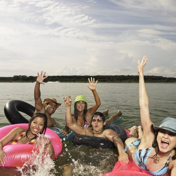 Float to sandy beaches along Palo Pinto's lakes and rivers.