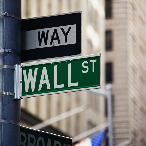 Visit Wall Street in the Financial District.
