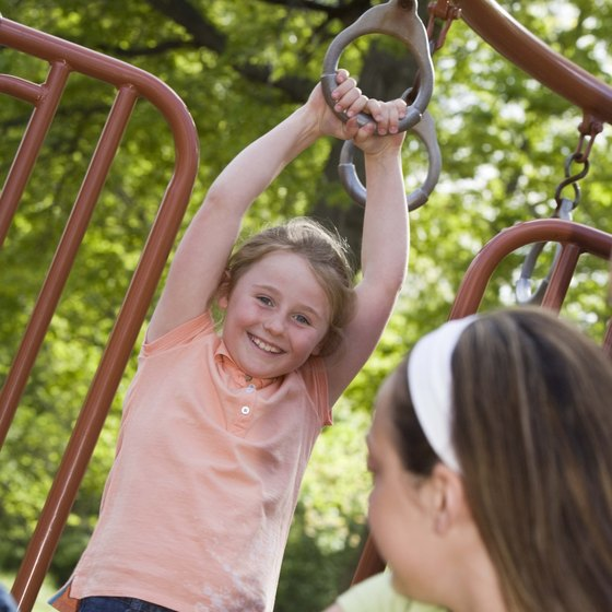 Several Annandale area parks have playgrounds.