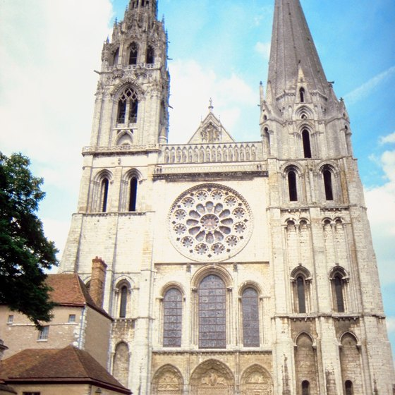 Chartres Cathedral is one of the many day trips available from Paris.