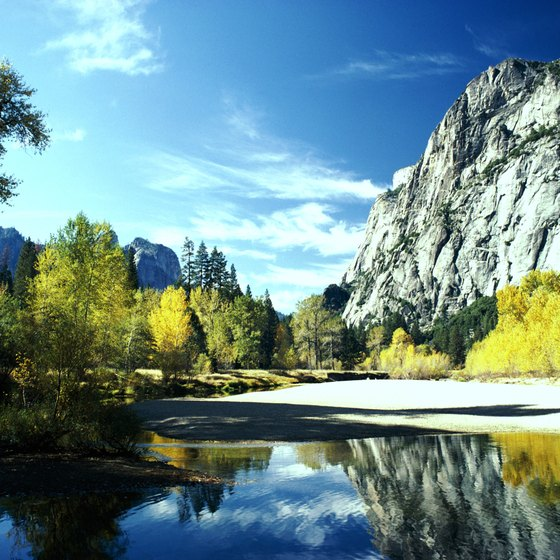 Yosemite boasts many notable sights.