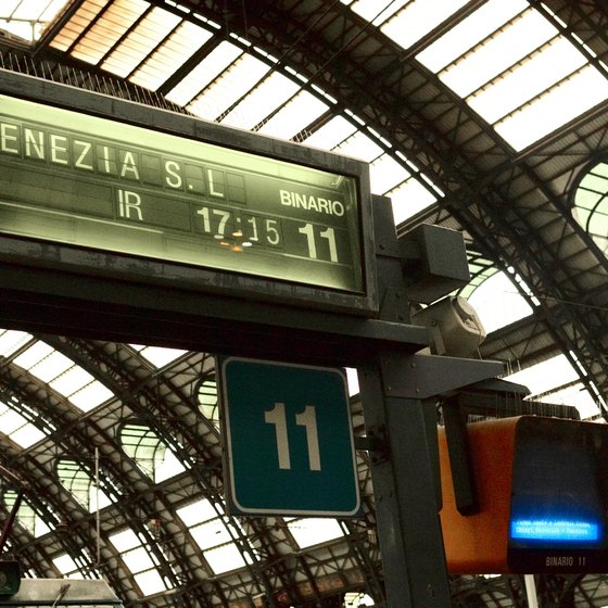 "In Italian, Venice's railway station is referred to as ""Venezia S.L."""