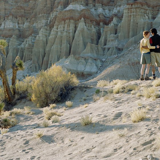 Red Rock Canyon offers dozens of hiking trails.