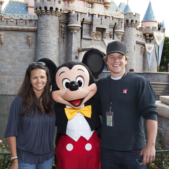 You may even meet a celebrity on your trip to Disneyland.