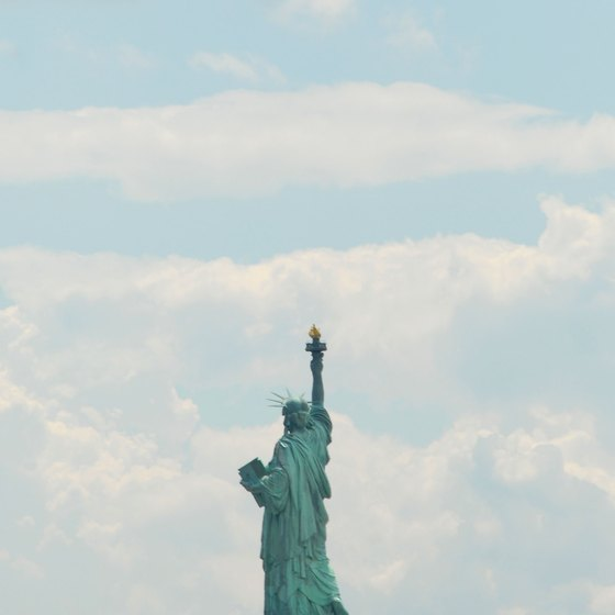 Liberty State Park: The closest view of Lady Liberty from land.