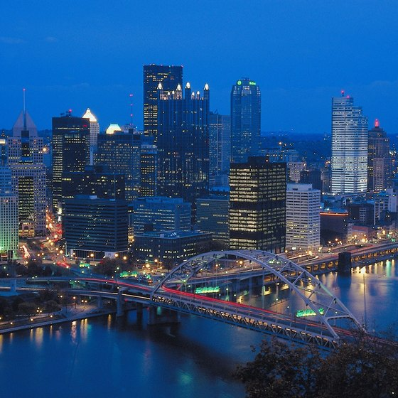 The North Shore neighborhood is right across the river from downtown Pittsburgh.