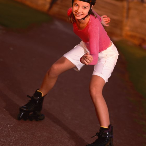 Roller skaters enjoy a host of skating opportunities throughout Orange County, California.