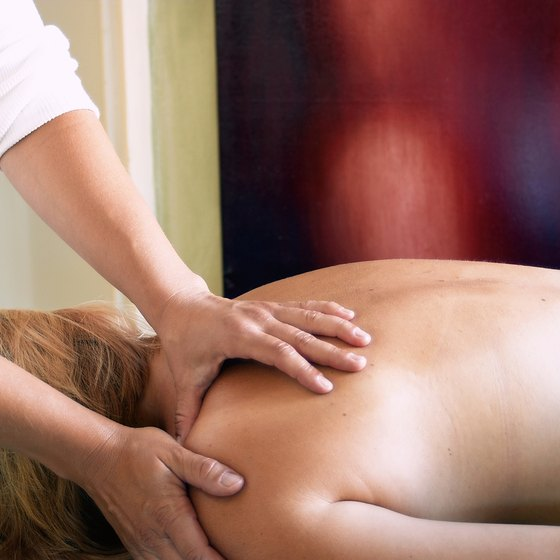 Massage is a type of detoxification technique offered at body cleansing spas.