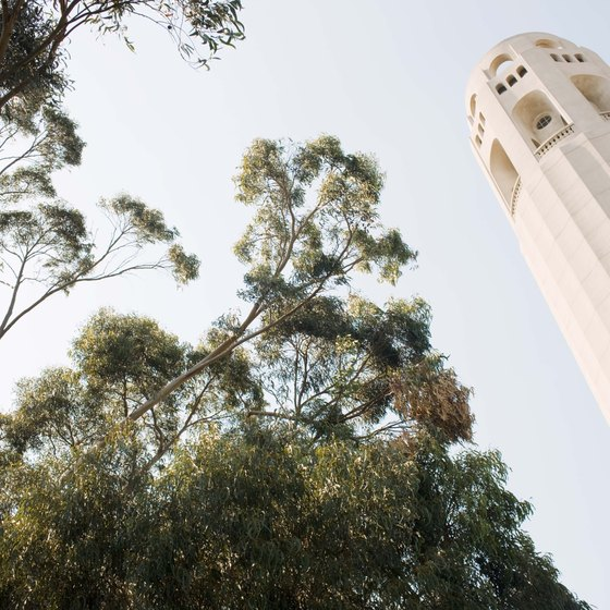 Coit Tower is a short walk from Kearny Street.