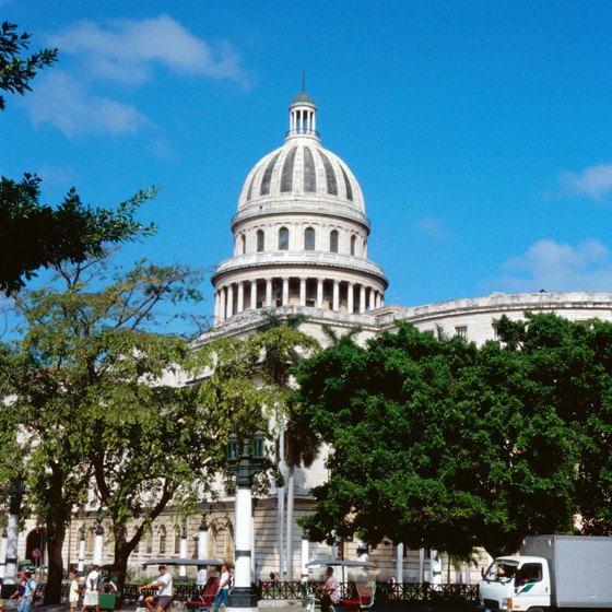 The Cuban Capitol Building looks curiously familiar.