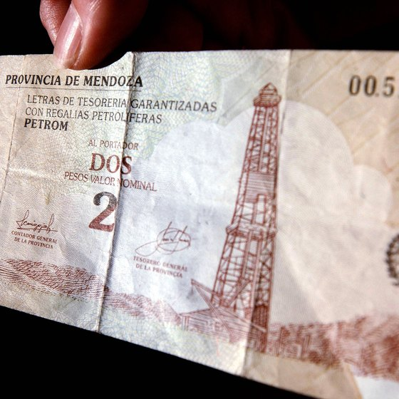 If you want Argentinian pesos from an American bank, they may need to order it especially for you.