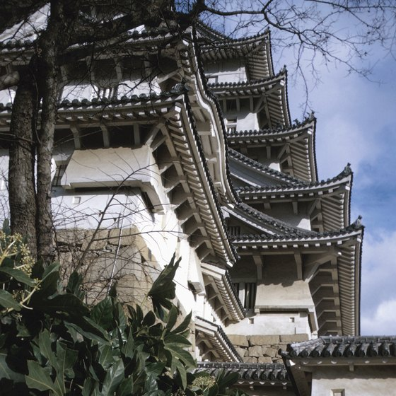 Ancient and modern architecture meet in Japan, making visits visually intriguing.