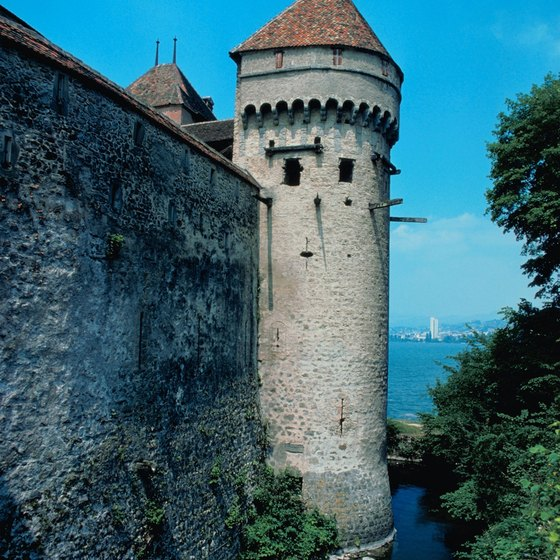 Switzerland's castles draw tourists by the thousands.