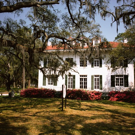 Visitors can tour the historic homes on Jekyll Island.