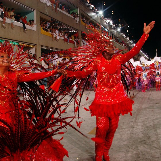 Lavish parades are a feature of Carnival.