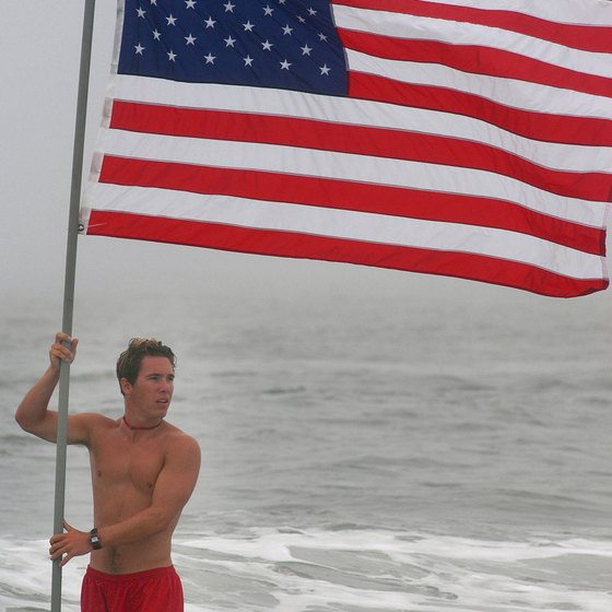 A lifeguarding championship is held annually in Cape May, near Atlantic City.