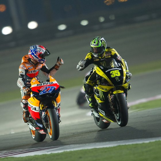 Doha is the seat of Qatar's annual MotoGP race.