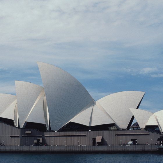 Queen Elizabeth II opened the Sydney Opera House in 1973.