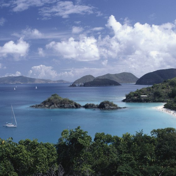 St. John in the U.S. Virgin Islands includes a large national park.