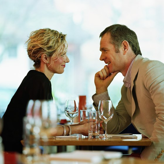 Enjoy a romantic dinner at one of the restaurants in Florence, Kentucky.