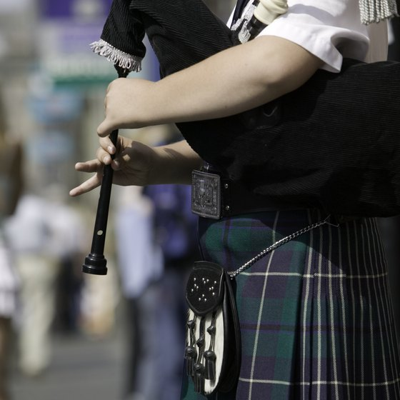 Bagpipe bands are common at Celtic festivals in Pennsylvania.