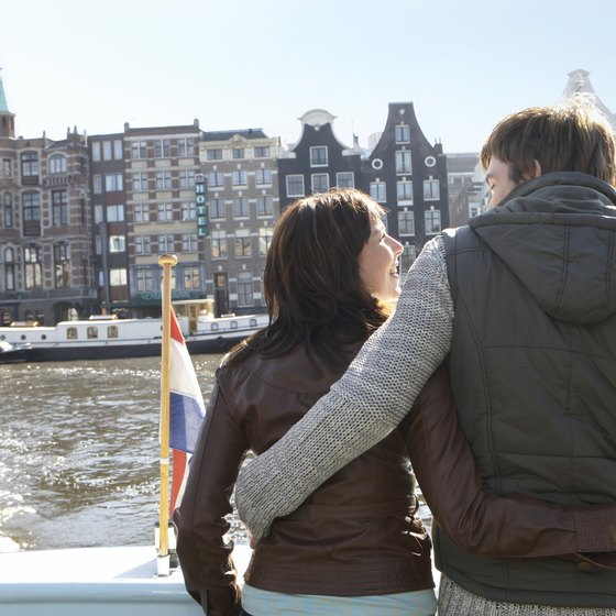 Take a canal cruise to see Amsterdam's historic old quarter from the water.