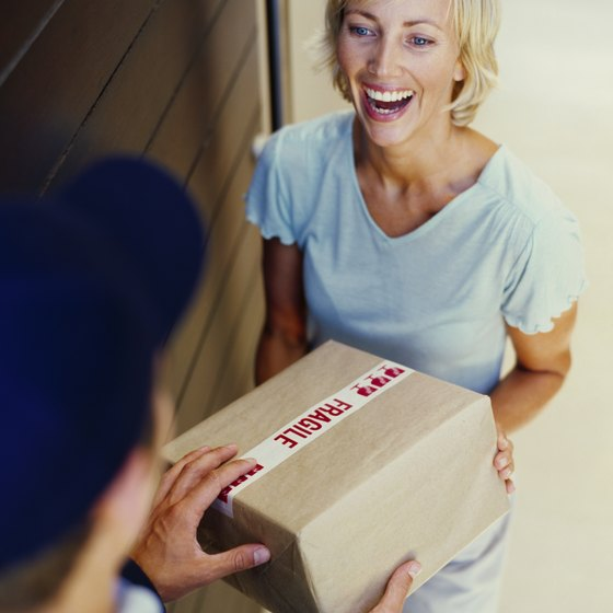 Tracking numbers allow you to confirm information regarding your parcels.
