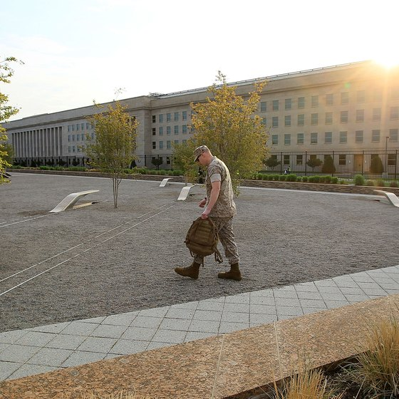 The Pentagon is a dominant presence in Northern Virginia.