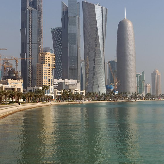 Doha, on the Persian Gulf, is becoming a major tourism destination.